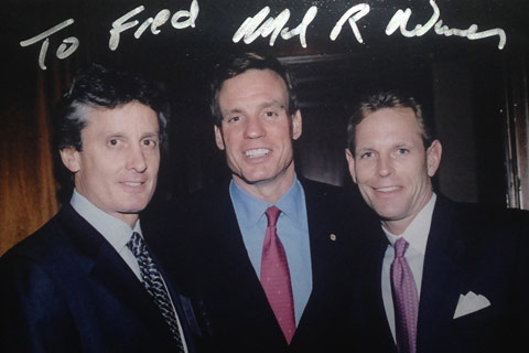 Fred IV, Senator Mark Warner (VA), Russ Ramsey